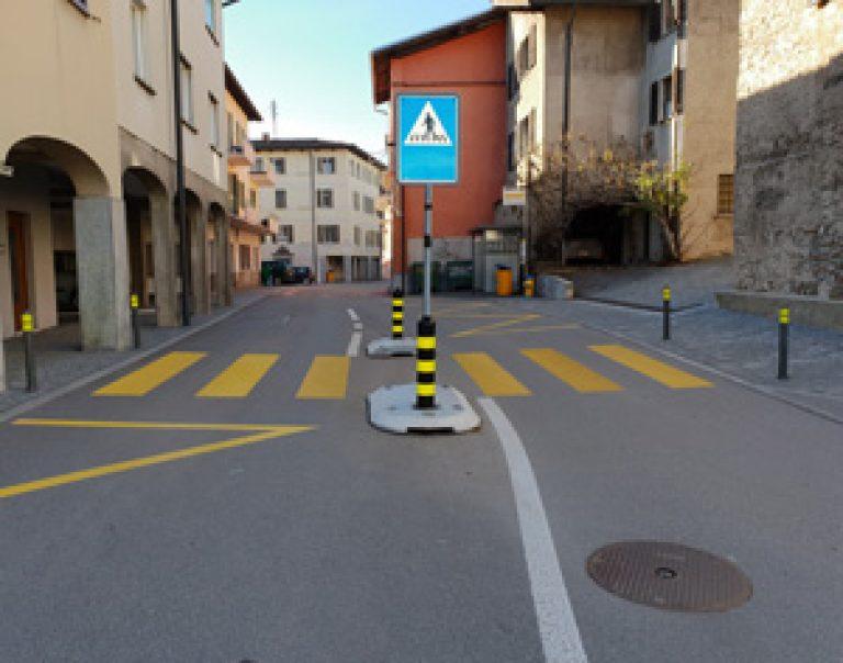 Moderazione traffico, Porza