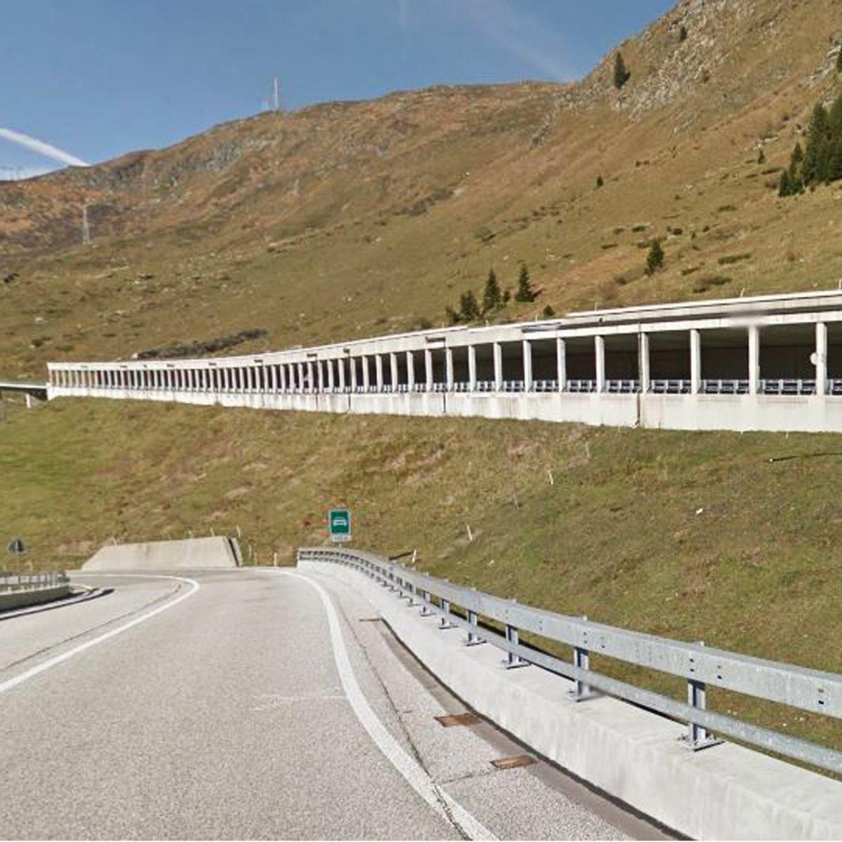 Galleria artificiale Piano dei Buoi, passo San Gottardo