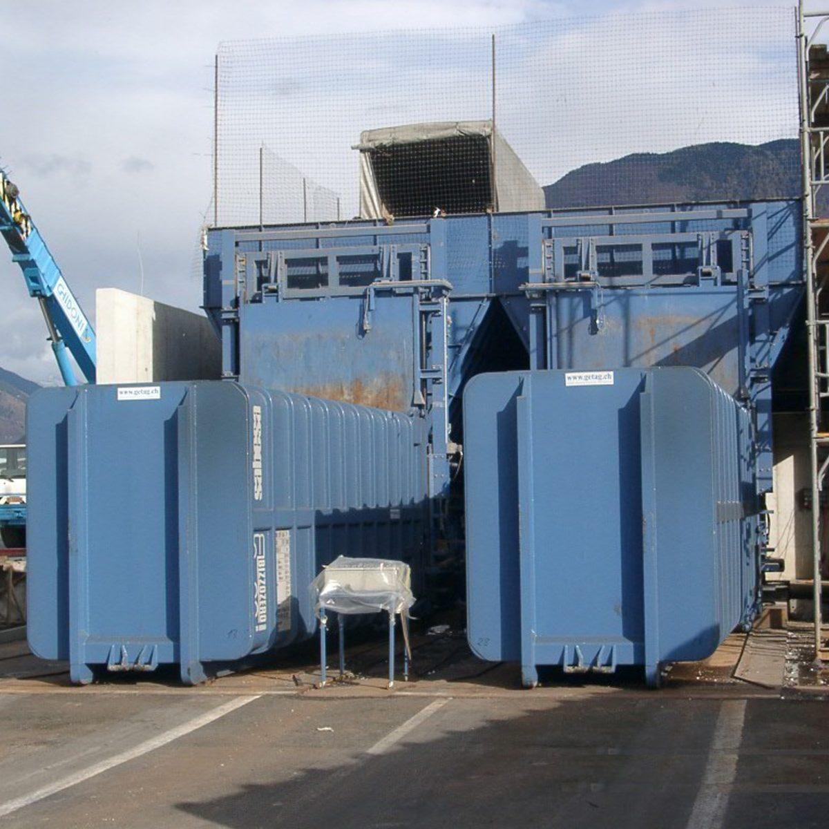 Stazione di trasbordo CIR, Giubiasco