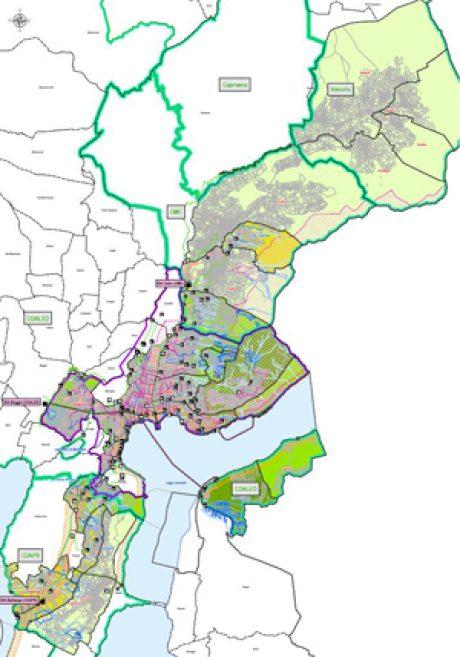 Piani Generali di Smaltimento delle acque PGS, comunali e consortili PGSc