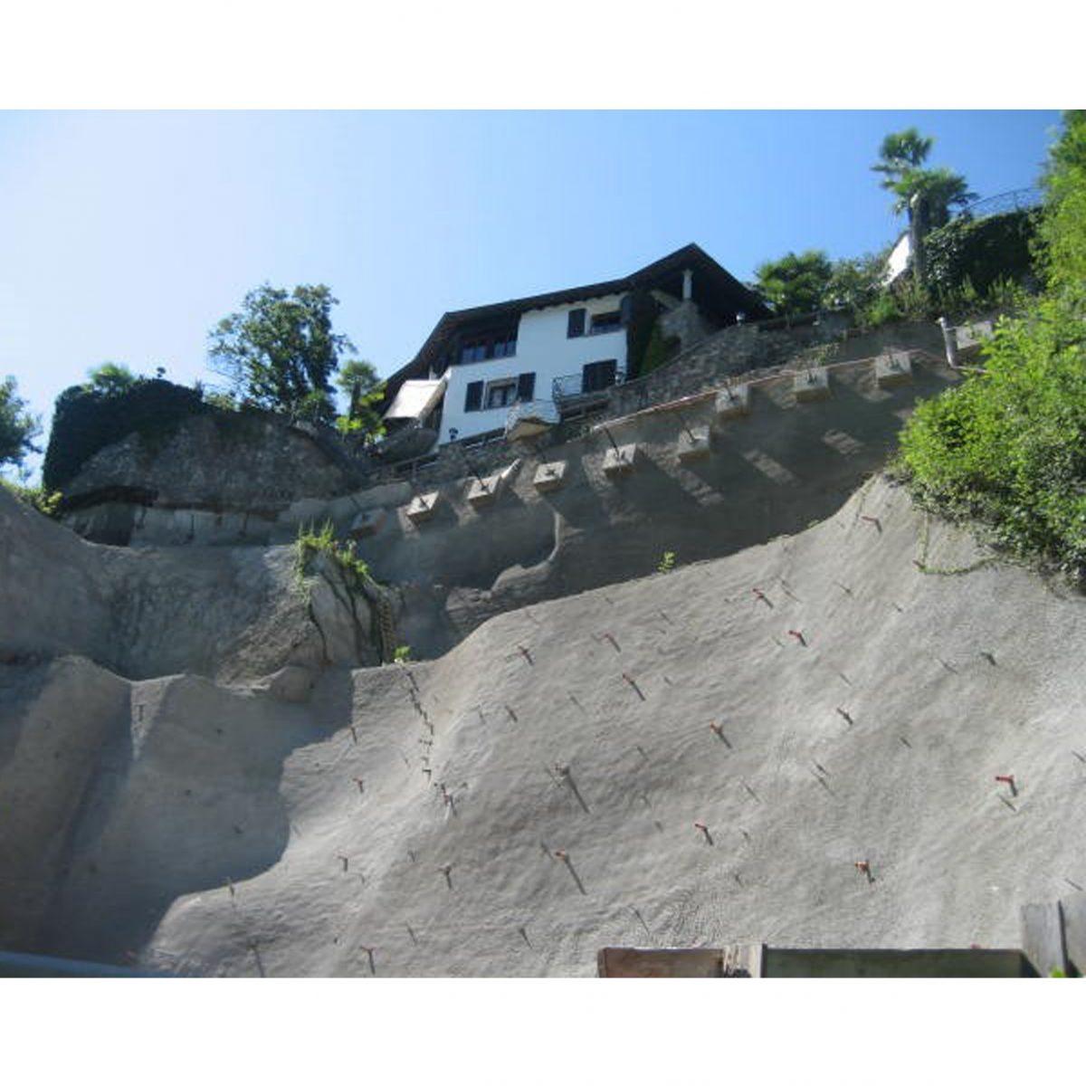 Opere di scavo, Residenza Vico Lago