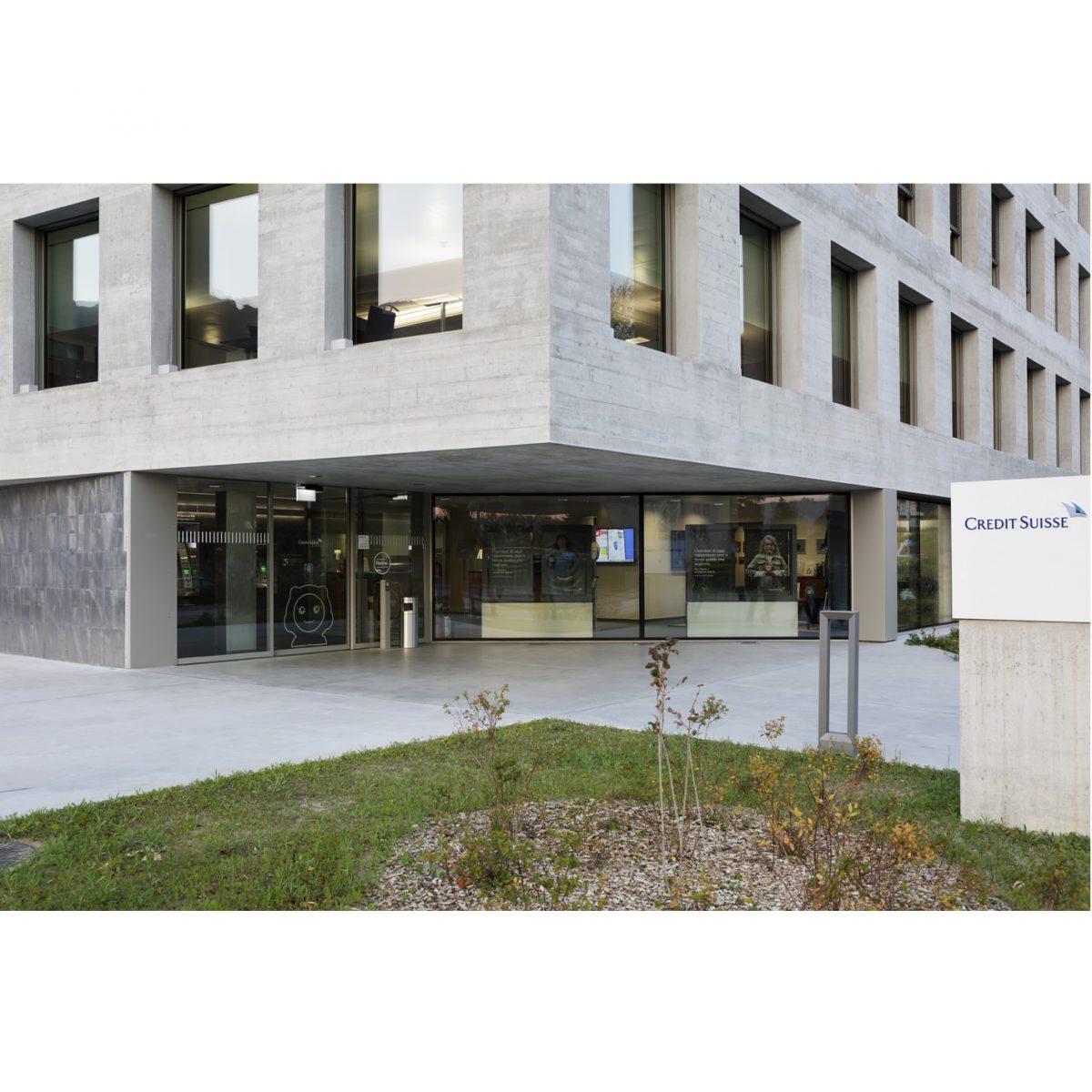 Nuova sede Credit Suisse, Lamone