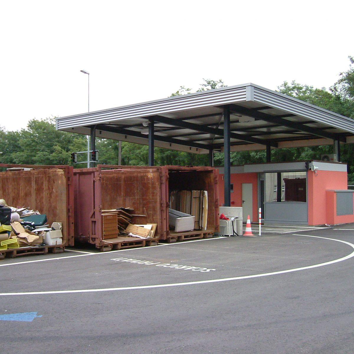 Stazione di Trasbordo rifiuti, Bioggio