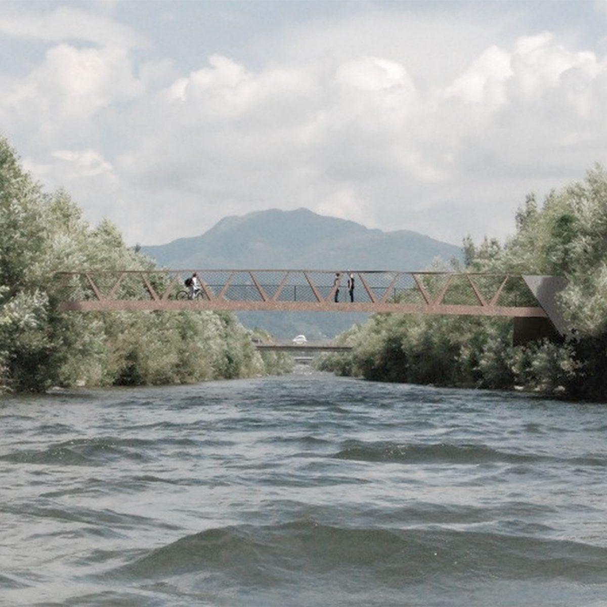 Passerella ciclo-pedonale, Vedeggio