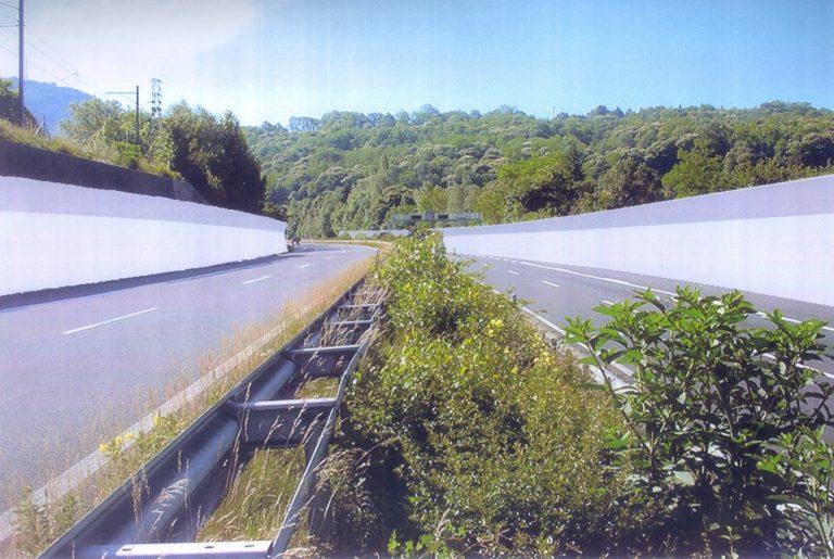 Opere di risanamento fonico, Pazzallo – Bioggio