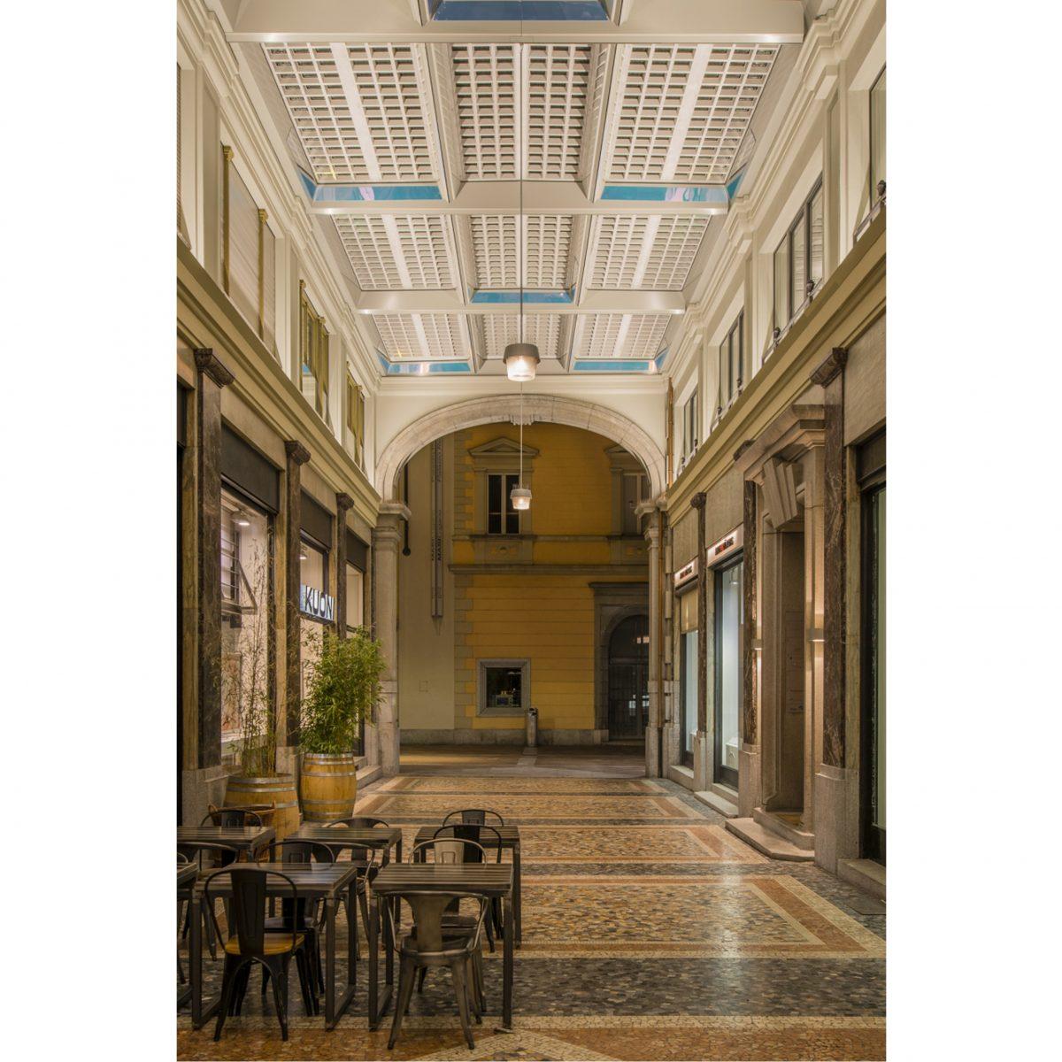 """Risanamento della """"Galleria"""", Lugano"""