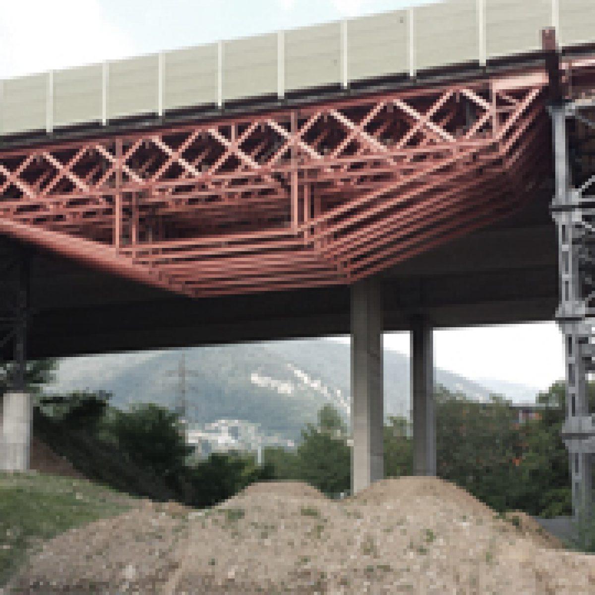 Ponte provvisorio Tana, Mendrisio