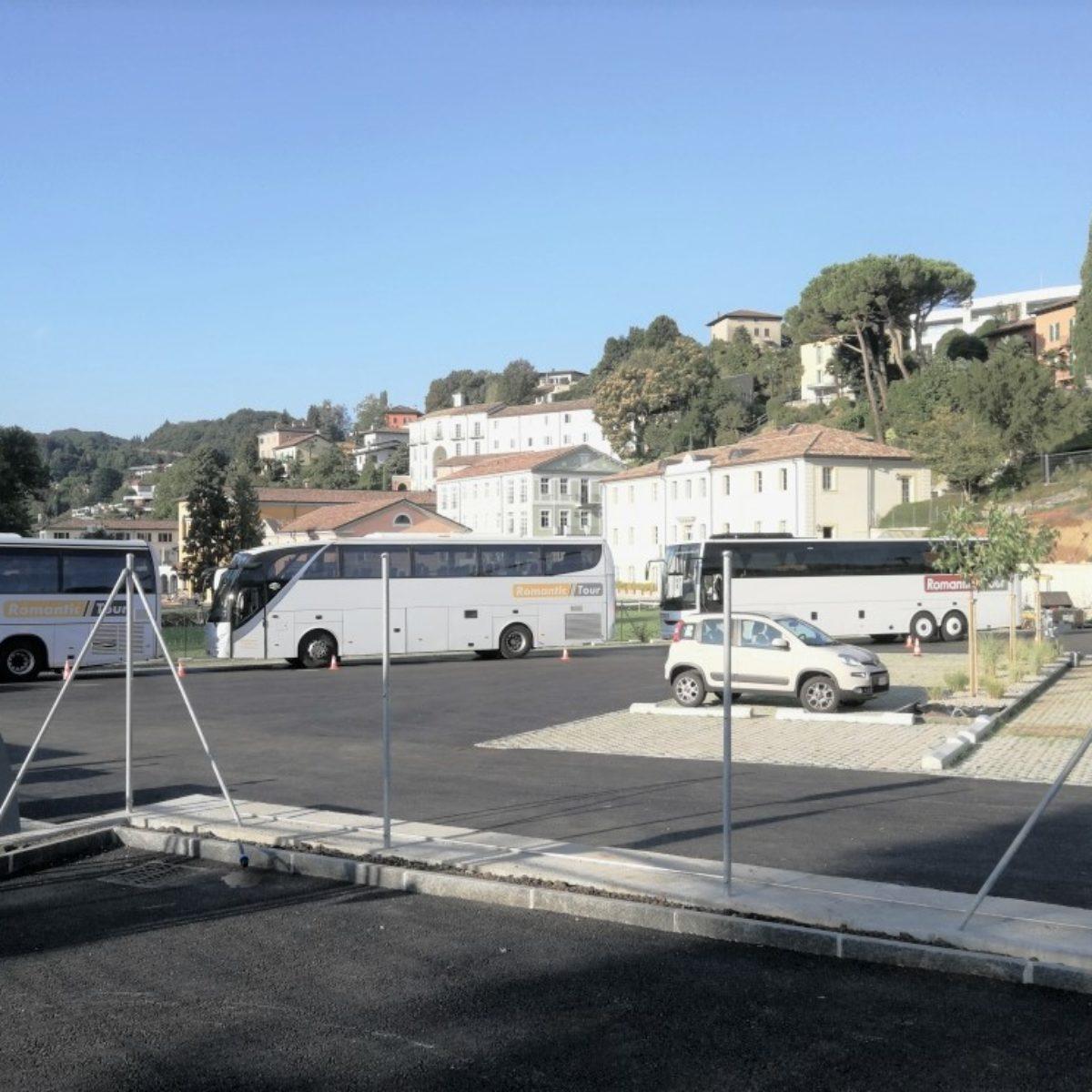 Nuovo posteggio provvisorio, Campus Scolastico TASIS a Montagnola