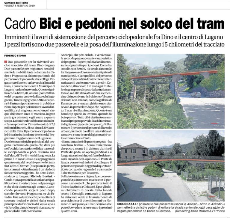 Corriere del Ticino, 08.02.2019