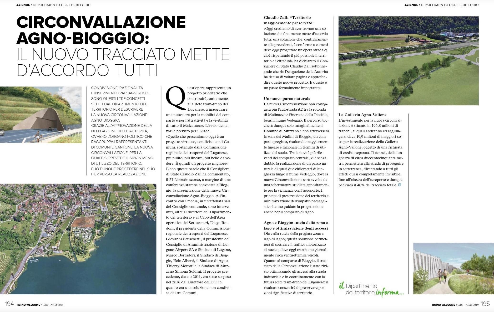Ticino Welcome, 06/08.2019